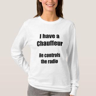 I have a Chauffeur-white t's T-Shirt
