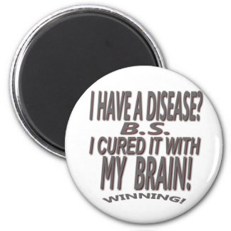 I have a disease? I Cured it With My Brain! Magnet