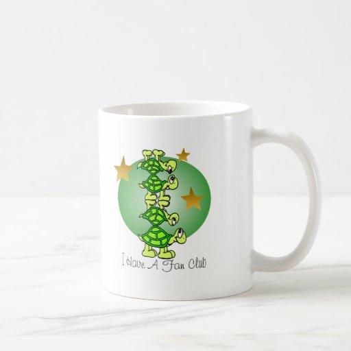 I Have A Fan Club Classic White Coffee Mug