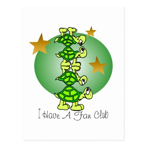 I Have A Fan Club Postcards