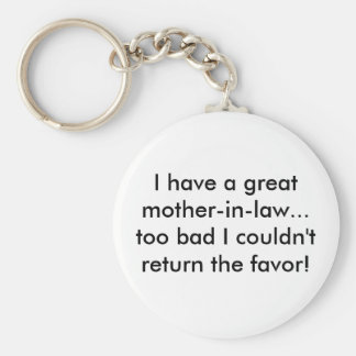 I have a greatmother-in-law... too bad I couldn... Basic Round Button Keychain