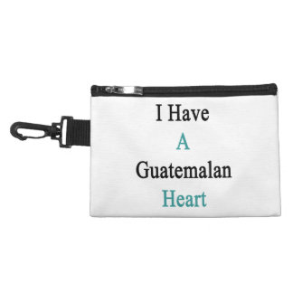 I Have A Guatemalan Heart Accessory Bags