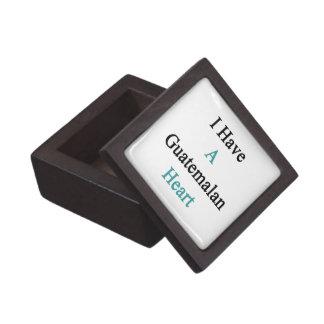 I Have A Guatemalan Heart Premium Gift Box