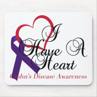 I Have A Heart Crohn's Disease Awareness Mouse Pad