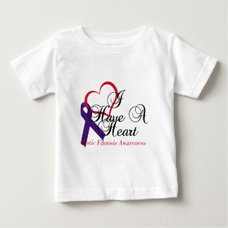 I Have A Heart Cystic Fibrosis Awareness T-shirt