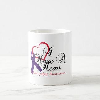 I Have A Heart Fibromyalgia Awareness Coffee Mug
