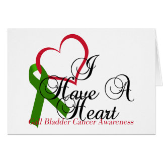 I Have A Heart Gall Bladder Awareness & Support Card
