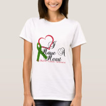 I Have A Heart Gall Bladder Awareness & Support T-Shirt