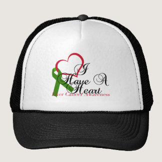 I Have A Heart Liver Cancer Awareness & Support Trucker Hat