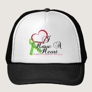 I Have A Heart Non-Hodgkins Lymphoma Awareness Trucker Hat