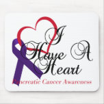 I Have A Heart Pancreatic Cancer Awareness Mouse Pad