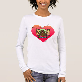 I have a Lab in my Heart (Chocolate Lab) Long Sleeve T-Shirt