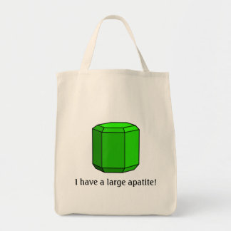 I Have a Large Apatite! Tote Bag