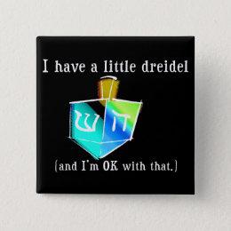 I Have a Little Dreidel Buttons