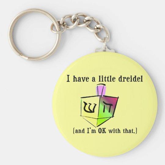 I Have a Little Dreidel Keychain