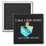 I Have a Little Dreidel Magnets