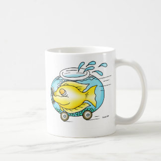 I have a need for speed! classic white coffee mug