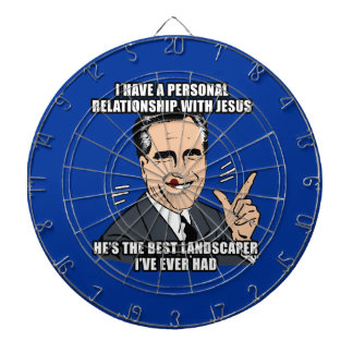 I have a personal relationship with Jesus Dartboards