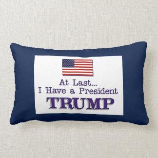 I Have A President TRUMP Lumbar Pillow