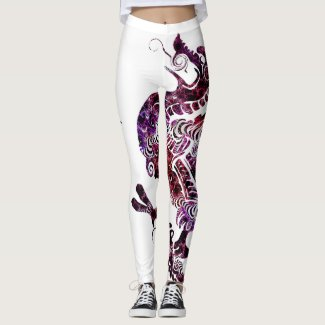 I Have a Purple Dragon Leggings