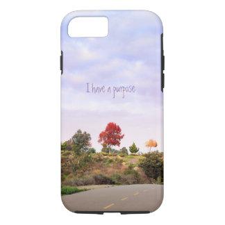 I have a purpose phone case