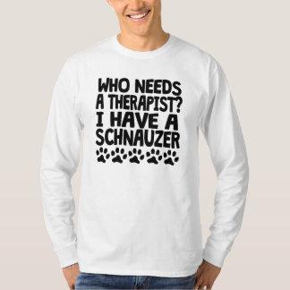 I Have A Schnauzer T Shirts