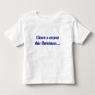 I have a secret this Christmas.... Tee Shirt