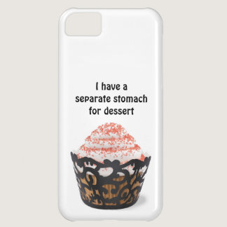 I have a separate stomach for dessert iphone case