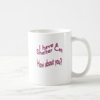 I Have a Shelter Cat Coffee Mug
