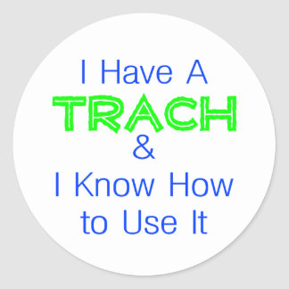 I Have a Trach Stickers
