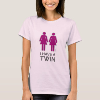 I Have A Twin shirt (light)
