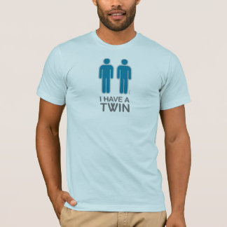 I Have A Twin shirt (light)