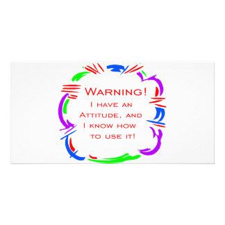 I have an attitude card