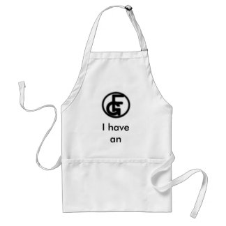 I have an idea. adult apron
