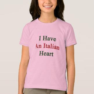 I Have An Italian Heart T-Shirt