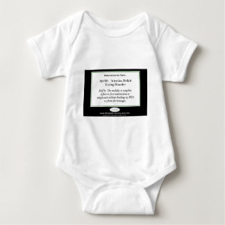 I have Attention Deficit Texting Disorder Baby Bodysuit