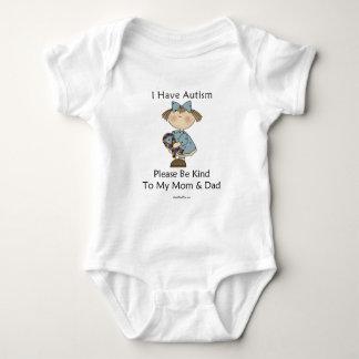 I Have Autism Baby Bodysuit