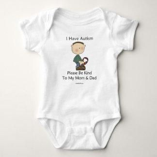 I Have Autism (boy) Baby Bodysuit