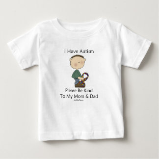 I Have Autism (boy) Baby T-Shirt