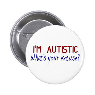 I Have Autism Pins
