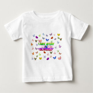 I have autism & I  like butterflies Baby T-Shirt