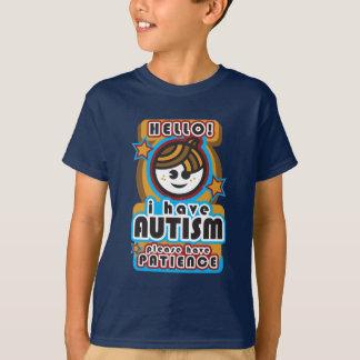 I have autism, please have patience (boy2) T-Shirt