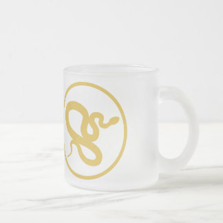 I have been envenomated by my research subject 10 oz frosted glass coffee mug