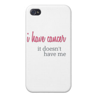 I Have Cancer - Awareness Merchandise Covers For iPhone 4