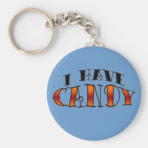 I have candy key chain
