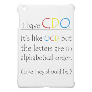 I Have CDO Cover For The iPad Mini