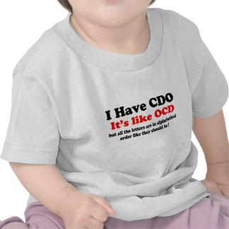 i have cdo t-shirts