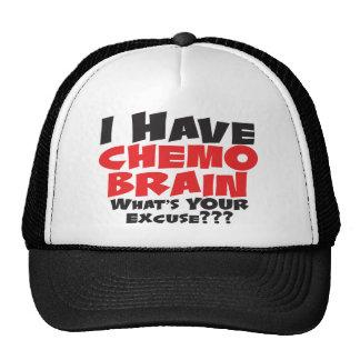 I Have Chemo Brain Trucker Hat