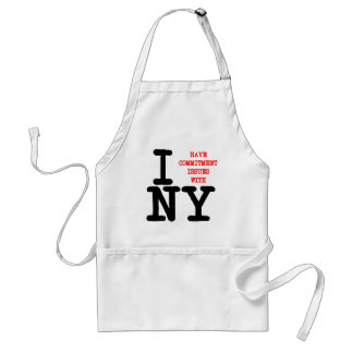 I Have Commitment Issues With NY Adult Apron