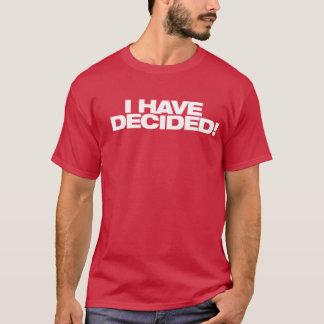 I have Decided Baptism Shirt